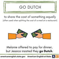 Expression: Go Dutch