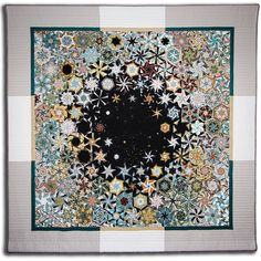 One Block Wonder - Bruce Seeds Quilting Projects, Quilting Designs, Quilting Ideas, Art Quilting, Quilt Art, Millefiori Quilts, One Block Wonder, Kaleidoscope Quilt, Hexagon Quilt