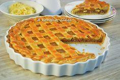 A konyha világa: Rácsos almás pite