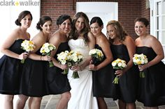 black bridesmaid dresses plus size