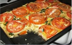 Chicken breast baked with tomatoes