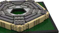 BrickLink MOC Item : The Pentagon Building Pentagon, Kid Stuff, Crafts For Kids, Lego, Building, Projects, Crafts For Children, Log Projects, Blue Prints