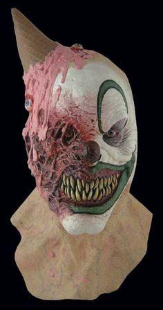 Eye Scream - I scream, you scream, we all scream when this clown comes to town