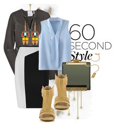 """60 seconds"" by limitless-velocity ❤ liked on Polyvore featuring moda, Hervé Léger, Roland Mouret, Michael Antonio, Satya y Mawi"