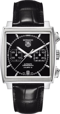 Powerful!!  - TAG Heuer Watch Monaco Chronograph