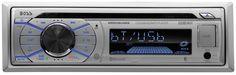 BOSS AUDIO MR508UABS Single-Din, Marine, MP3, CD, AM/FM Receiver