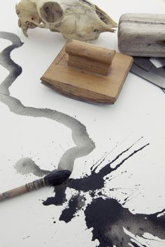 ...the whole universe was the size of an ink splotch.