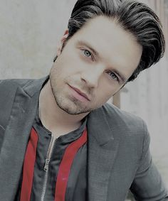 """Sebastian Stan photographed for """"August Man"""" Malaysia's April 2016 issue."""