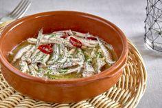 Receta Boquerones a la bilbaina | Pescaderías Coruñesas Thai Red Curry, Nutrition, Olive Oil, Ethnic Recipes, Dinner Ideas, Food, Kuchen, Biscuit Cake, Fish Recipes