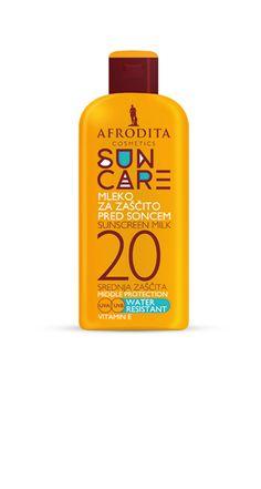 Afrodita - SUN CARE MLEKO ZA ZAŠČITO PRED SONCEM SPF 20