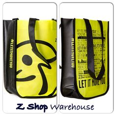 ALMOST SOLD OUT!!! ZUMBA Shopping Tote Bag ~ FuNKY Hip! ~Convention & Travel Bag! Gym Bag! GET IT! #ZUMBA
