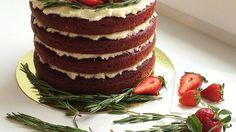 Влажный бисквитный торт с ванильным крем-чизом, пошаговый рецепт с фото