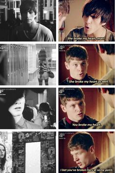 Freddie McClair and James Cook - Skins Uk She Broke My Heart, Cook Skins, Skin Aesthetics, Skins Quotes, Skins Uk, Kaya Scodelario, Reasons To Live, Tv Show Quotes, Book Show