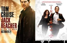 Movie Releases in October 2016: Jack Reacher 2, The Accountant, Inferno, The Girl on the Train and More