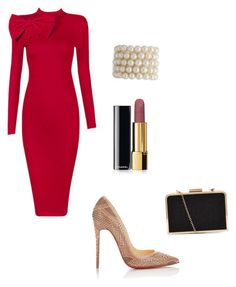 """Untitled #18"" by ashlijoy ❤ liked on Polyvore featuring Posh Girl, Christian Louboutin and Chanel"
