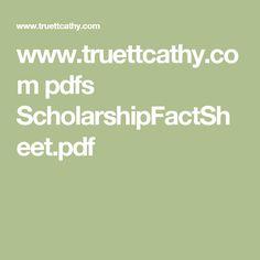 www.truettcathy.com pdfs ScholarshipFactSheet.pdf