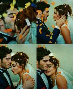 Hayat and Murat wedding Cute Love Couple, Perfect Couple, Best Couple, Romantic Couples, Most Romantic, Cute Couples, Murat And Hayat Pics, Couple Presents, Fiction Stories