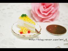미니어쳐 도너츠 만들기 Miniature * Doughnut - YouTube