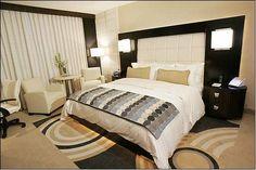 Wedding night suite - Motor City Casino Hotel - Bedroom