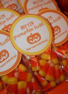 Rotten Pumpkin teeth! lol!