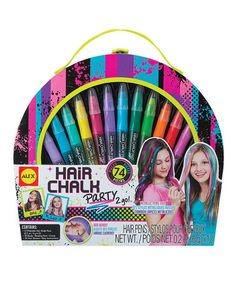 Look what I found on #zulily! Hair Chalk Party 2 Go Set #zulilyfinds. pinned this ONLY because it gave me the idea to sell hair chalk, or do it on people for a couple bucks.