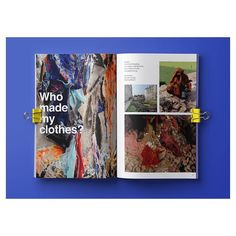 Make a fanzine. Fashion Revolution, why don't you?