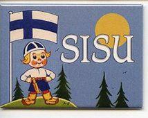 Suomen Poika Puukko Puukko & Sisu Magnet # REM11991