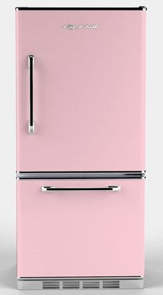 Vintage Pink Kitchen Accessories Inspirational Retro Refrigerators 7 Places to them In Pink and Retro Refrigerator, Retro Fridge, Mini Fridge, Refrigerator Freezer, Retro Vintage, Vintage Kitchen, Red Kitchen, Pink Kitchen Decor, Kitchen Retro