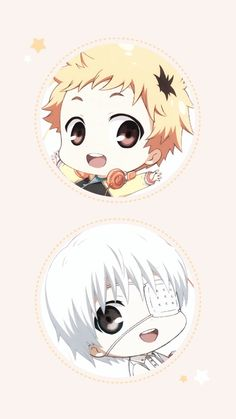 tokyo ghoul chibi anime wallpaper / background
