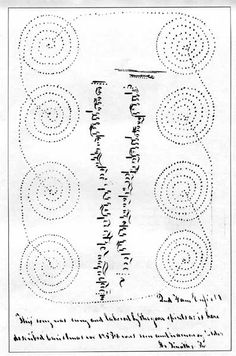 """""""In 1853 visiting spirits dancing in twisting circles were seen and recorded (by Timothy Randlett) at Enfield, New Hampshire..."""""""