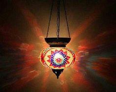 Handmade Turkish Mosaic Lamp / Lamp / Handmade Lamp / Turkish Lamp / Mosaic Lamp/ Authentic Lamp / Authentic /