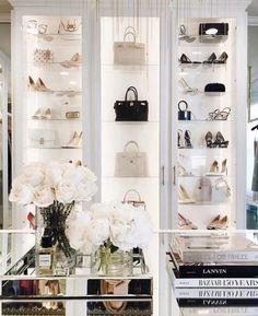 Bag Closet, Dressing Room Closet, Dressing Room Design, Dressing Room Decor, Dressing Rooms, Wardrobe Room, Closet Bedroom, Spare Room Closet, Luxury Closet