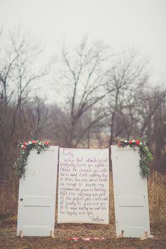 Love Letter Engagement Session