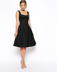 ASOS Debutant Full Midi Dress