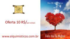 Promoção dia da Mulher  Atenção Mulheres, hoje oferecemos 10 reais nas vossas compras. Com esse valor estamos oferecendo de forma simbólica uma linda rosa, é a nossa oferta com Amor e admiração.
