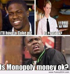 Coke is NOT Pepsi!