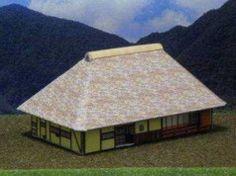 Simple Yosemune Farmer House Free Building Paper Model Download