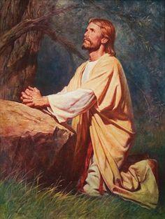 Jesu nimmt in Getsemani die Sünden aller Menschen auf sich