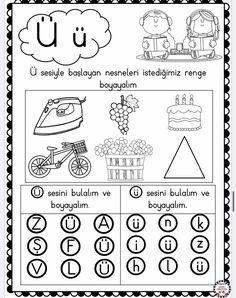 Pre School, Phonics, Preschool Activities, Coloring Pages, Kindergarten, Projects To Try, Education, Quote Coloring Pages, Kindergartens
