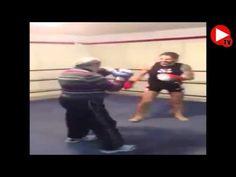 TVEstudio: Este joven reta a un abuelo a una pelea, lo que pasa después es increible