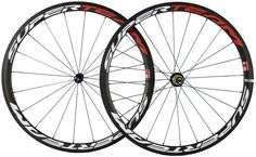 Superteam 38mm 700C Carbon Bike Clincher Wheels Bicycle Wheelset Touring Wheels #UnbrandedGeneric