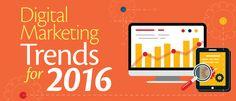 Follow #DigitalMarketingTrends For 2016. #Adzgateway Provides complete #DigitalMarketingServices.