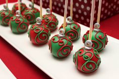 Cake pops - for Christmas
