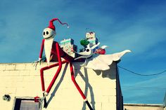 Eureka!!! This year, Christmas Will be Ours!!!! 12+ Foot Tall Jack and Zero - OCCASIONS AND HOLIDAYS