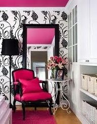 hot pink accessories for bedroom - Google Search