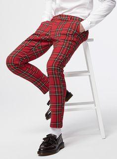 Tartan pant Skinny fit | Le 31 | Shop Men's Skinny Pants | Simons