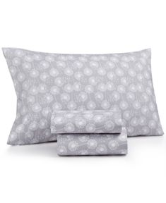 Printed Microfiber Twin Xl 3-Pc Sheet Set, Only at Macy's - Dandelion