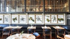 10 Most Important Bay Area Restaurant Openings of 2015 - Zagat: Ninebark in Napa Valley. Design by AvroKo