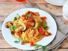 Spaghetti con Hongos a la Cerveza | El mejor spaghetti con hongos a la cerveza, organiza una cena con tus amigos y sorpréndelos con esta deliciosa receta. Prueba esta receta y sorpréndete con Pastas Luigi.