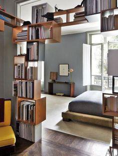 Des Bibliothèques Surprenantes Et Utiles - Les Coulisses De La Rédaction en relation avec Top Bibliothèque Separation Piece